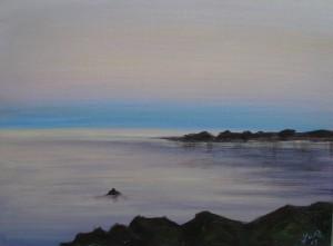 ochtenlicht-bij-zee